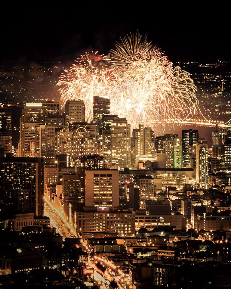 happy new year 2016 at twin peaks san francisco