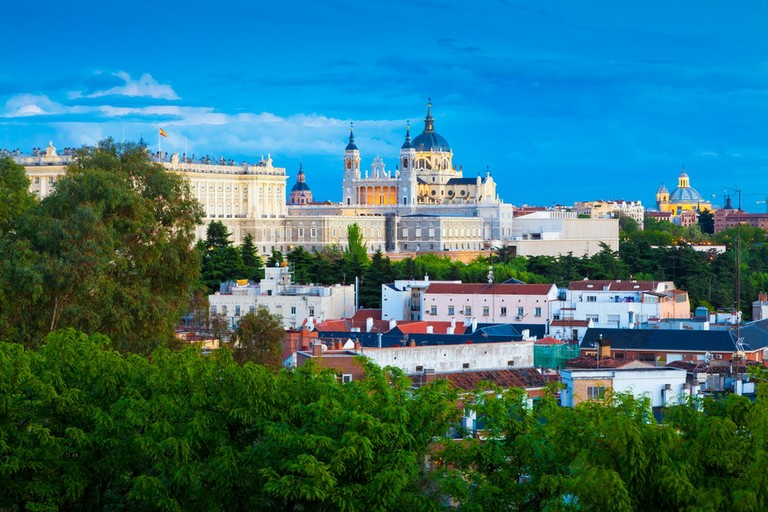 The Royal Palace And The Almudena Cathedral_Madrid_Spain_092920A
